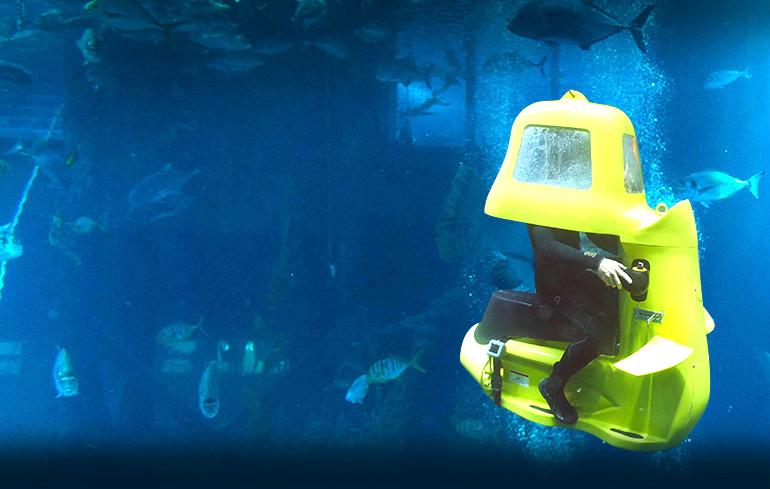 اسکوتر زیردریایی کیش تفریحات