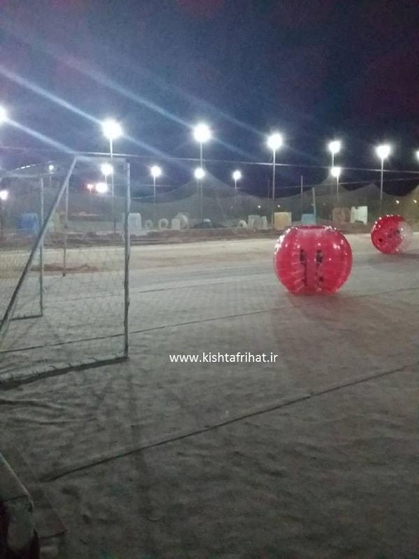فوتبال حبابی کیش