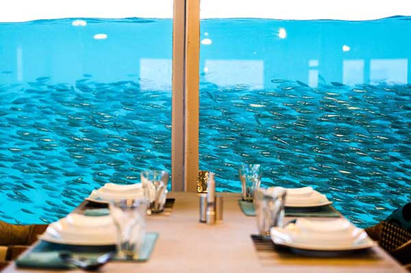 رستوران زیر دریایی او آنس